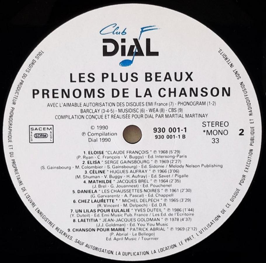 Club Dial Editions 1990_l11