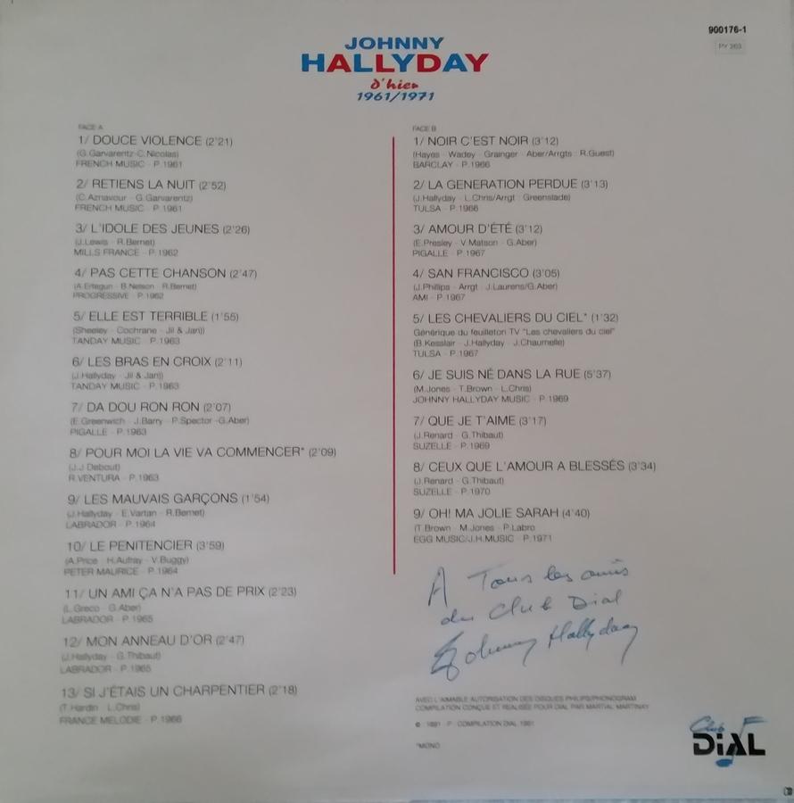 Club Dial Editions 1991_d15