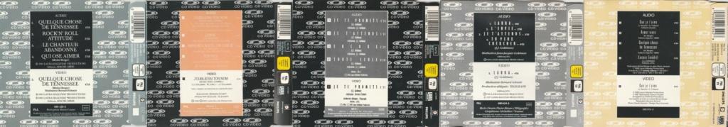 CD VIDEO JOHNNY HALLYDAY ( SERIE DE 5 )( 1985 - 1988 ) 199213