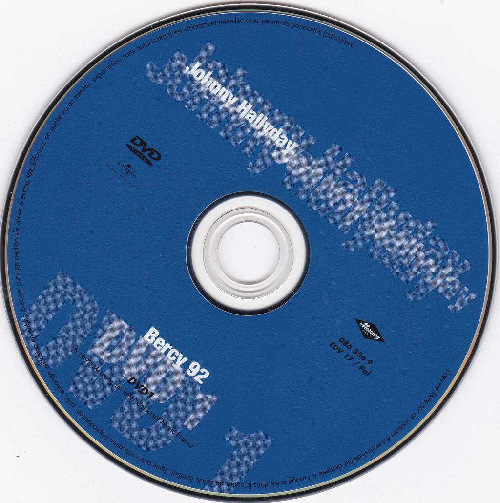 JAQUETTE DVD CONCERTS ( Jaquette + Sticker ) 1992_b12