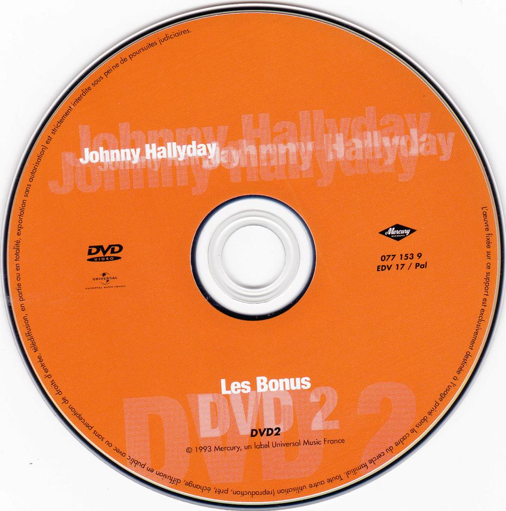 JAQUETTE DVD CONCERTS ( Jaquette + Sticker ) 1992_b14