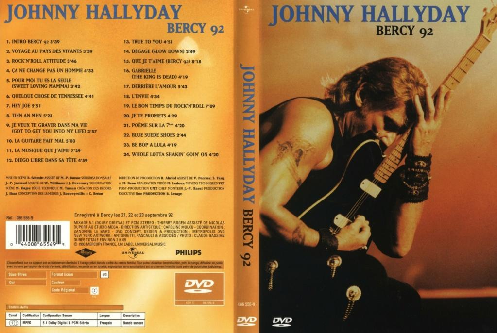LES CONCERTS DE JOHNNY 'BERCY 1992' 1992_b29