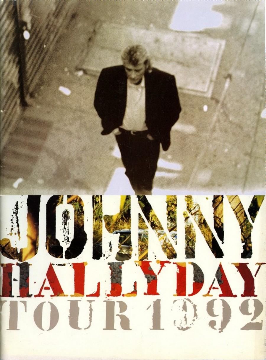 LES CONCERTS DE JOHNNY 'BERCY 1992' 1992to12