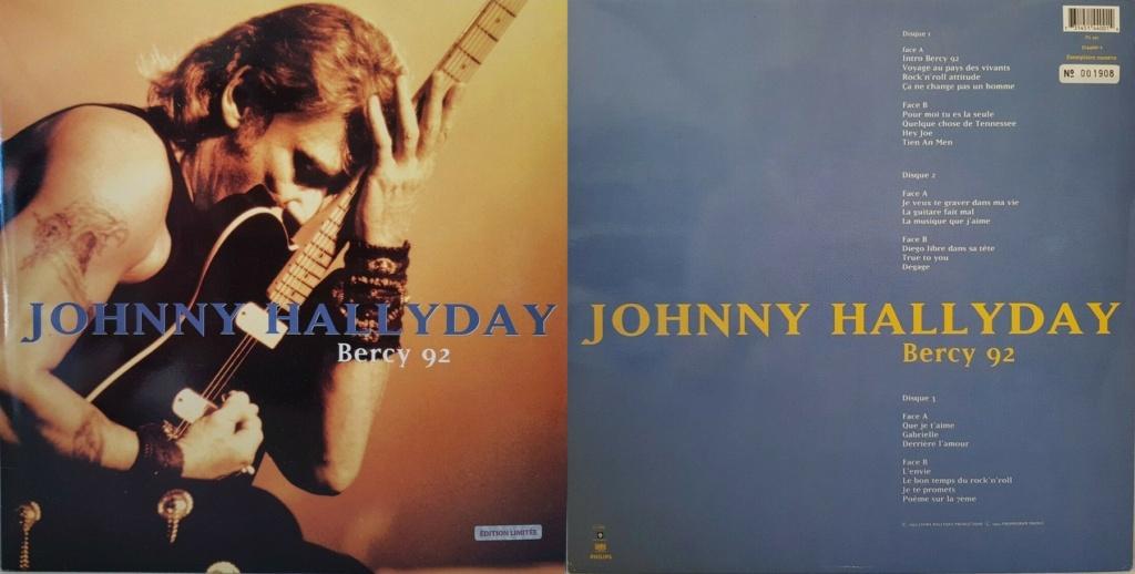 LES CONCERTS DE JOHNNY 'BERCY 1992' 1993_511