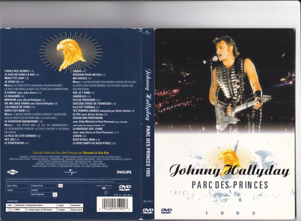 JAQUETTE DVD CONCERTS ( Jaquette + Sticker ) 1993_p11