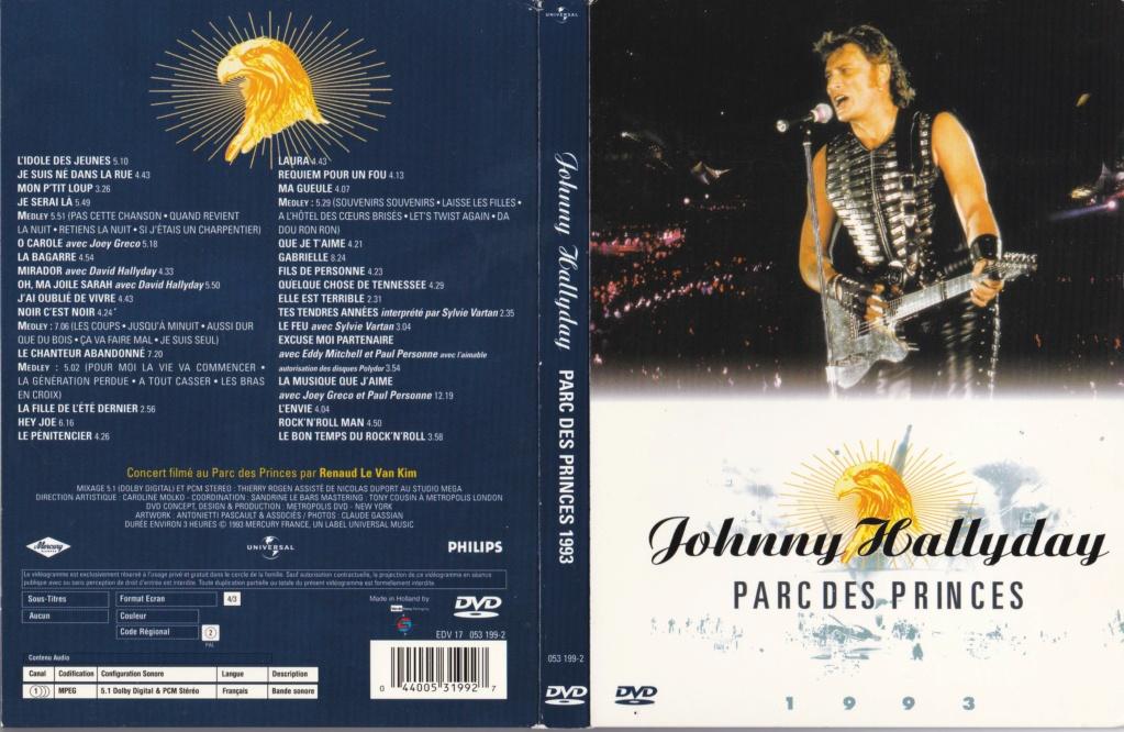 LES CONCERTS DE JOHNNY 'PARC DES PRINCES, PARIS 1993' 1993_p16