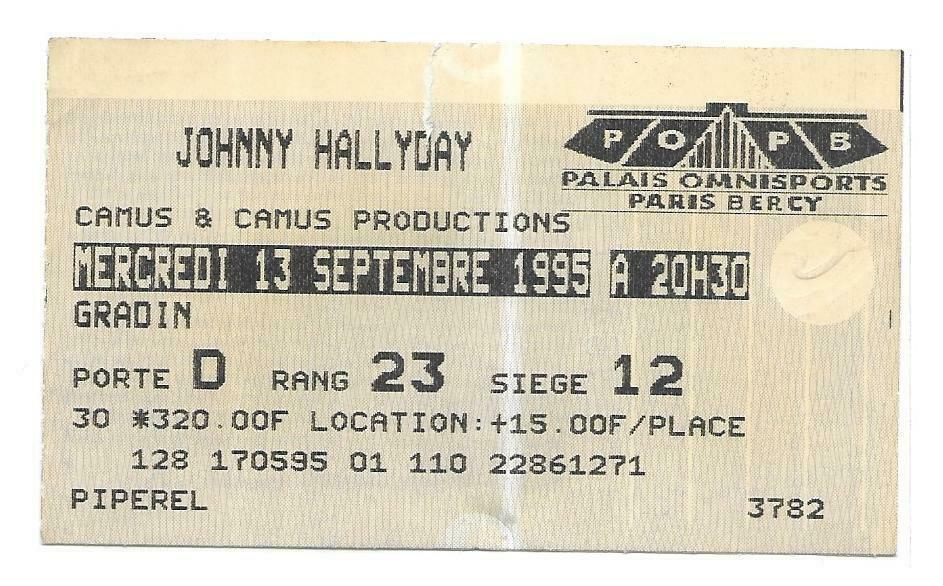 Pour Zorba (billets de concert) 199510
