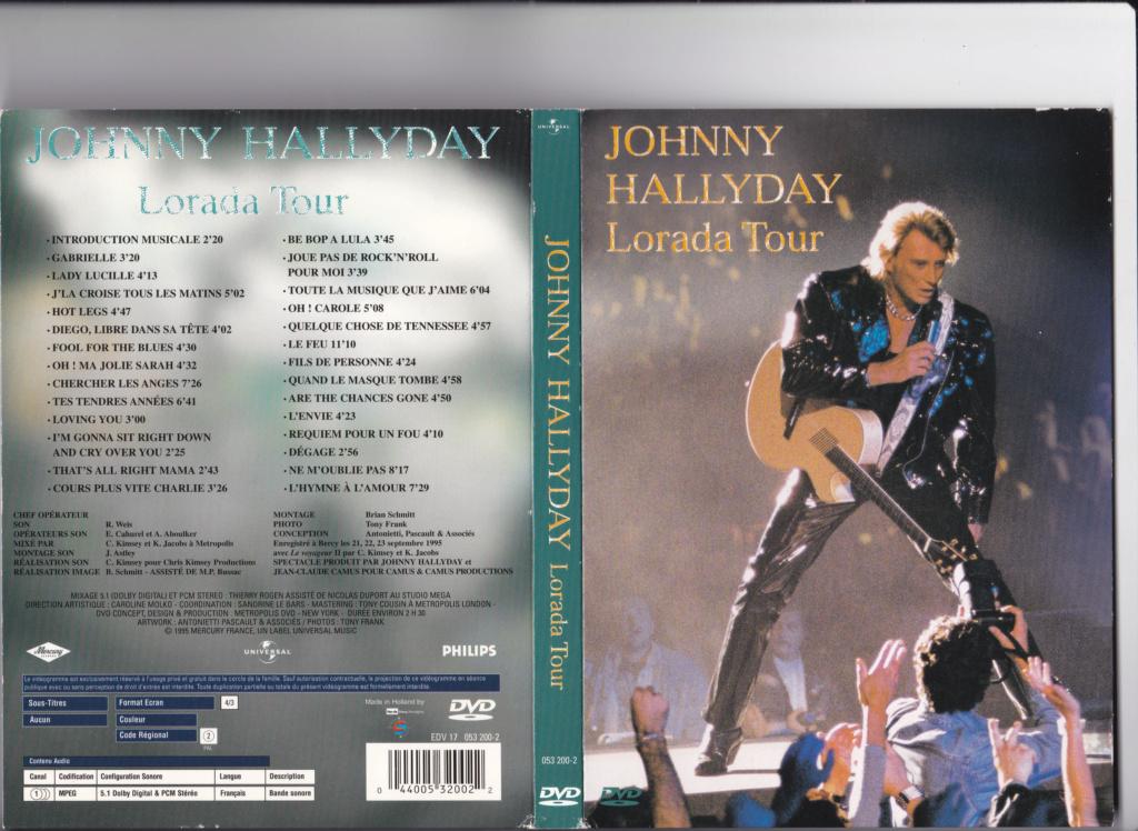 JAQUETTE DVD CONCERTS ( Jaquette + Sticker ) 1995_b11