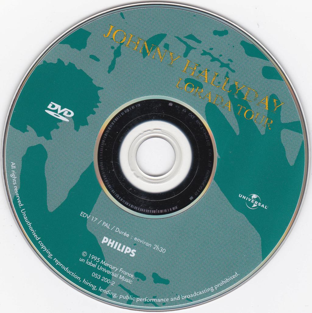 JAQUETTE DVD CONCERTS ( Jaquette + Sticker ) 1995_b15
