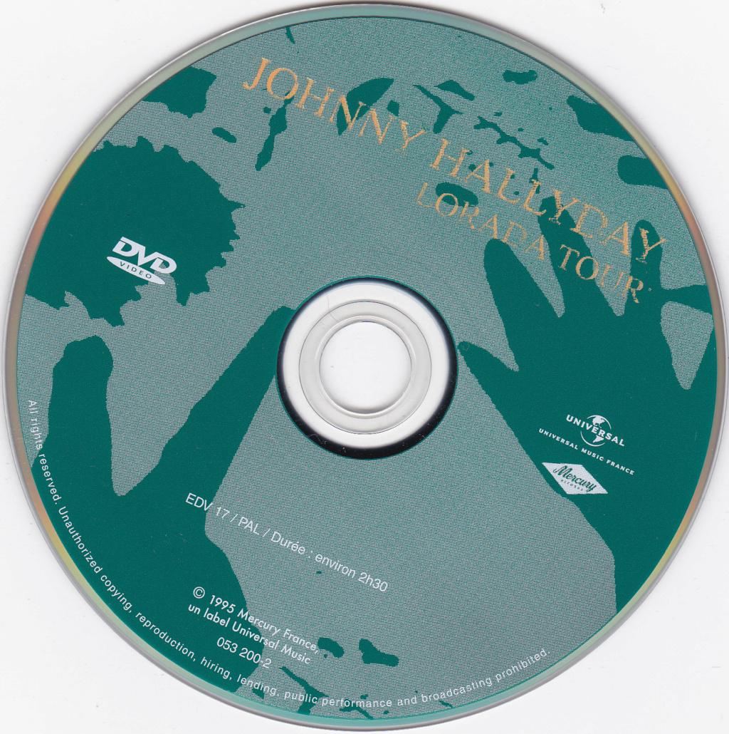 JAQUETTE DVD CONCERTS ( Jaquette + Sticker ) 1995_b16