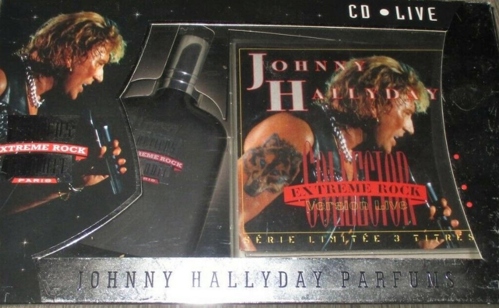 PARFUMS JOHNNY HALLYDAY ( COFFRET + CD )( 1995 - 1998 ) 1995_e11