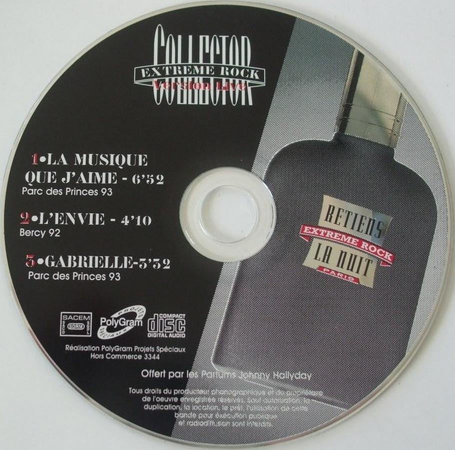 PARFUMS JOHNNY HALLYDAY ( COFFRET + CD )( 1995 - 1998 ) 1995_e12