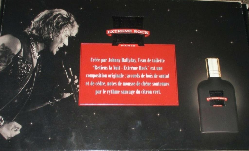 PARFUMS JOHNNY HALLYDAY ( COFFRET + CD )( 1995 - 1998 ) 1995_e13