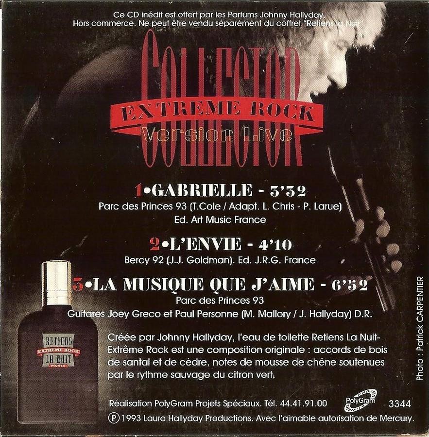 PARFUMS JOHNNY HALLYDAY ( COFFRET + CD )( 1995 - 1998 ) 1995_e14