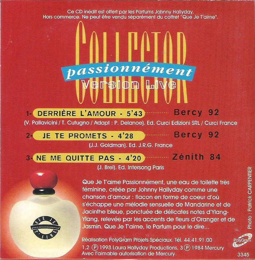 PARFUMS JOHNNY HALLYDAY ( COFFRET + CD )( 1995 - 1998 ) 1996_c13