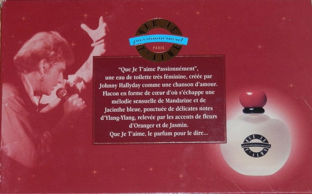 PARFUMS JOHNNY HALLYDAY ( COFFRET + CD )( 1995 - 1998 ) 1996_c14