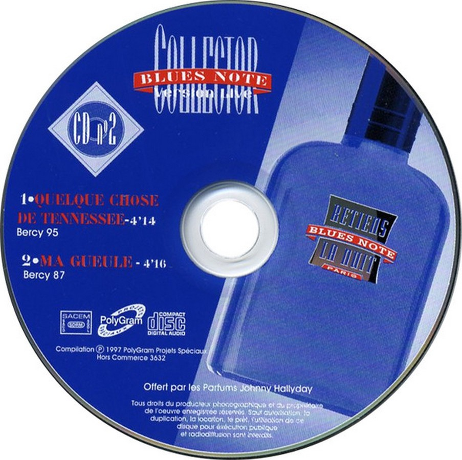 PARFUMS JOHNNY HALLYDAY ( COFFRET + CD )( 1995 - 1998 ) 1997_b11