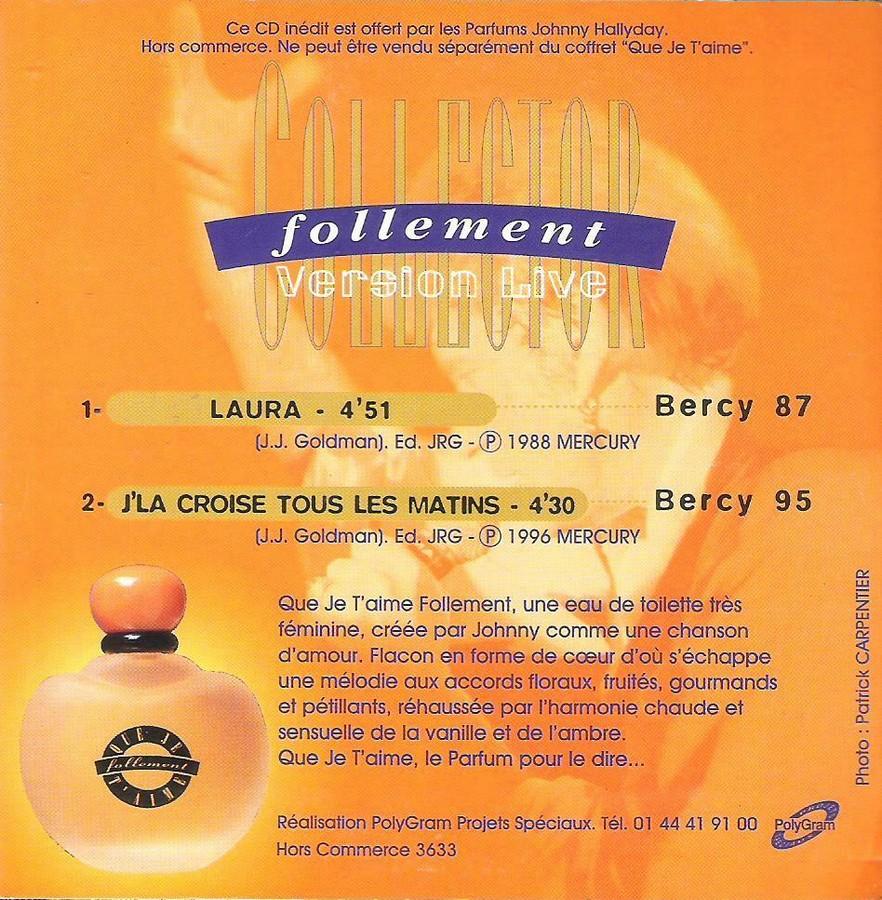 PARFUMS JOHNNY HALLYDAY ( COFFRET + CD )( 1995 - 1998 ) 1997_f13