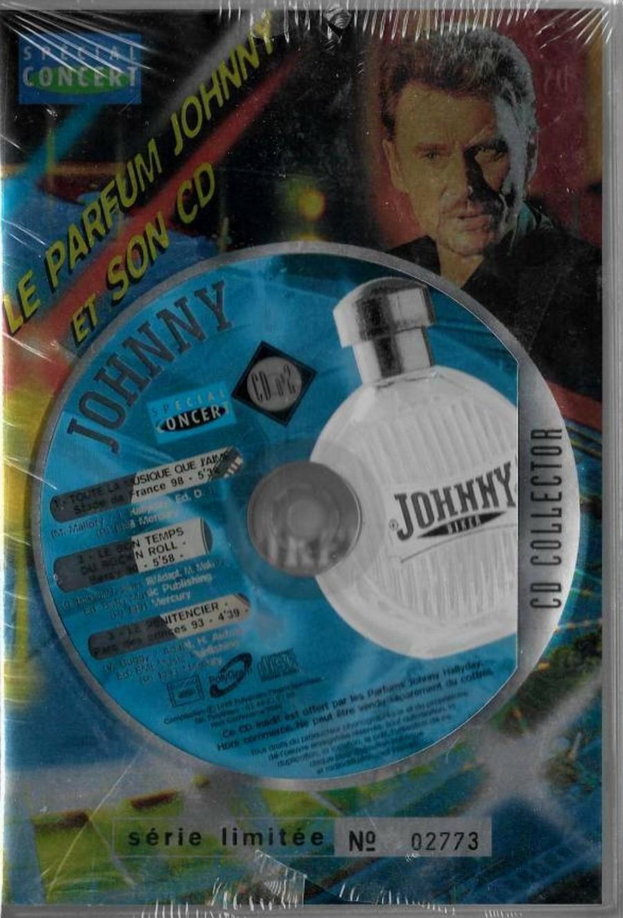 PARFUMS JOHNNY HALLYDAY ( COFFRET + CD )( 1995 - 1998 ) 1998_j11