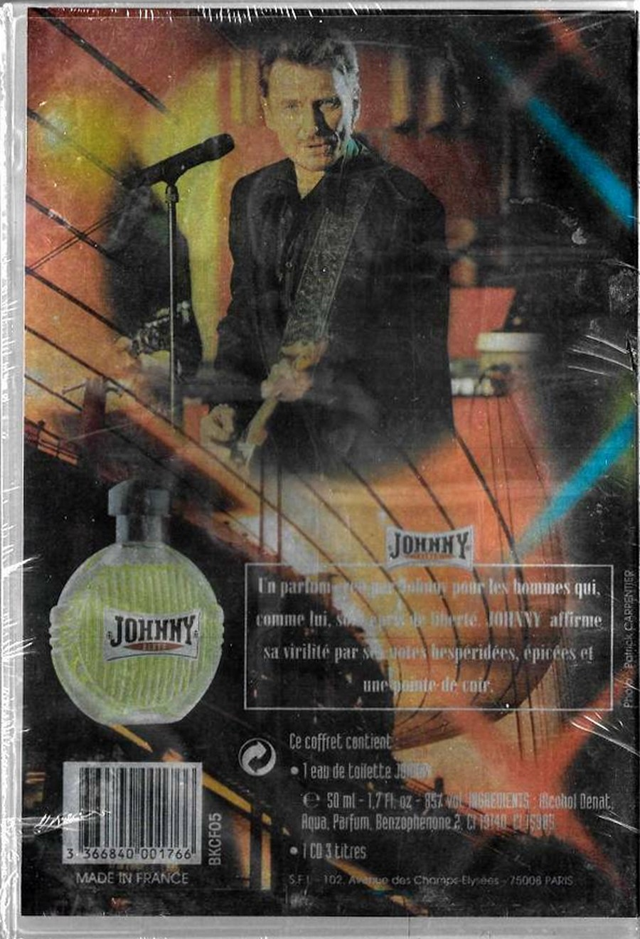 PARFUMS JOHNNY HALLYDAY ( COFFRET + CD )( 1995 - 1998 ) 1998_j12