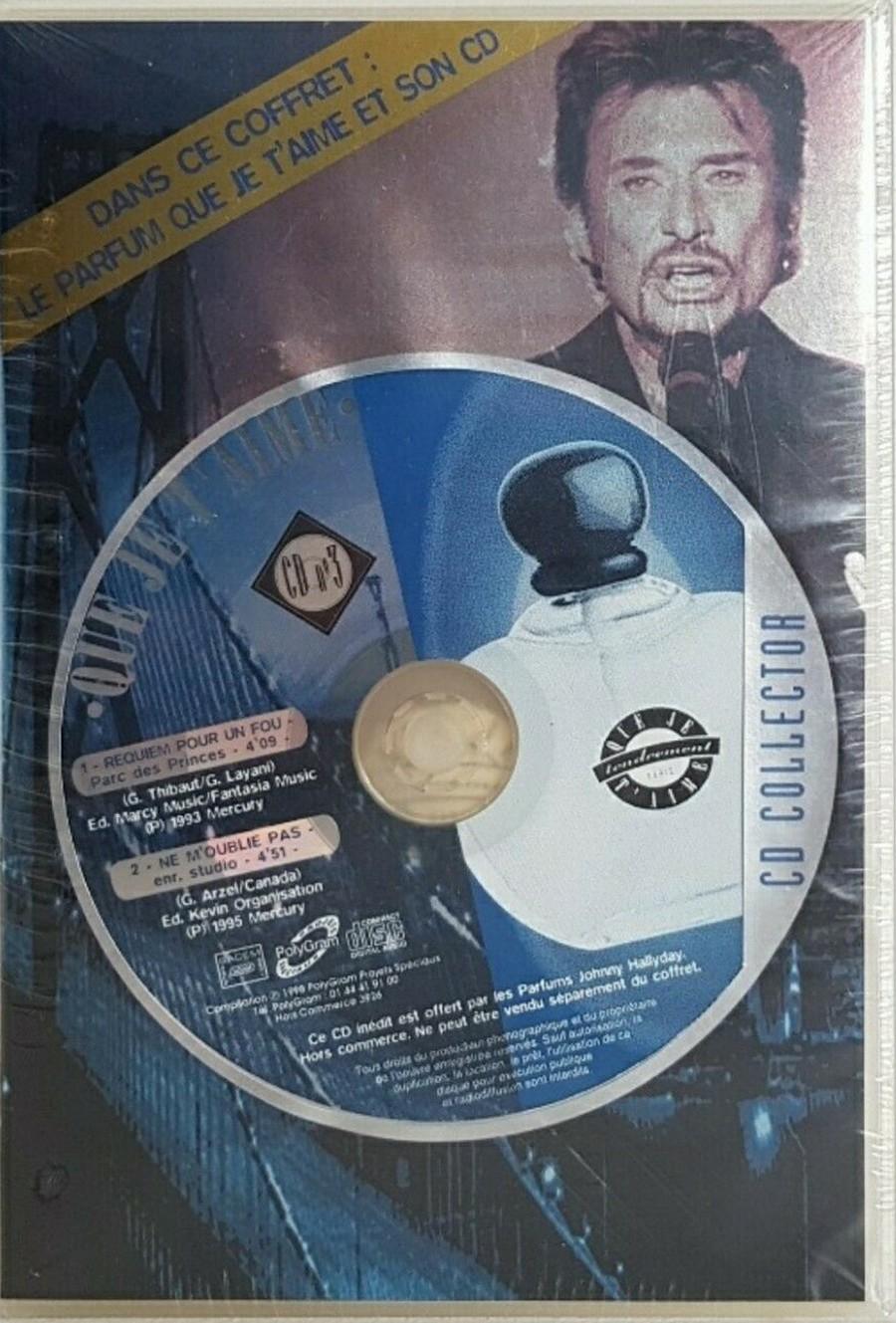 PARFUMS JOHNNY HALLYDAY ( COFFRET + CD )( 1995 - 1998 ) 1998_q10