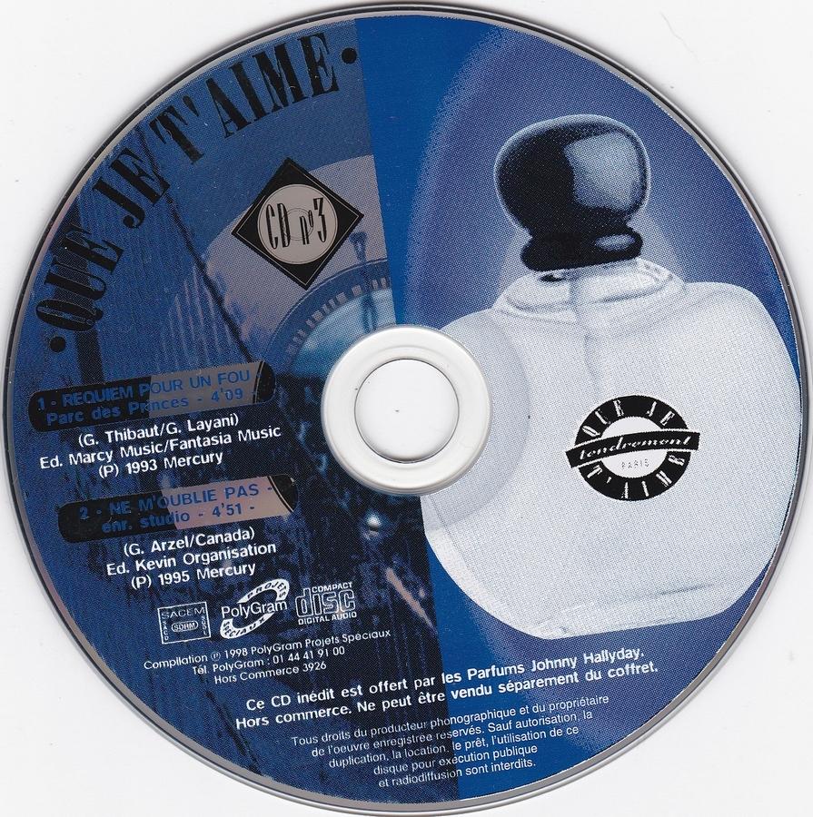 PARFUMS JOHNNY HALLYDAY ( COFFRET + CD )( 1995 - 1998 ) 1998_q12