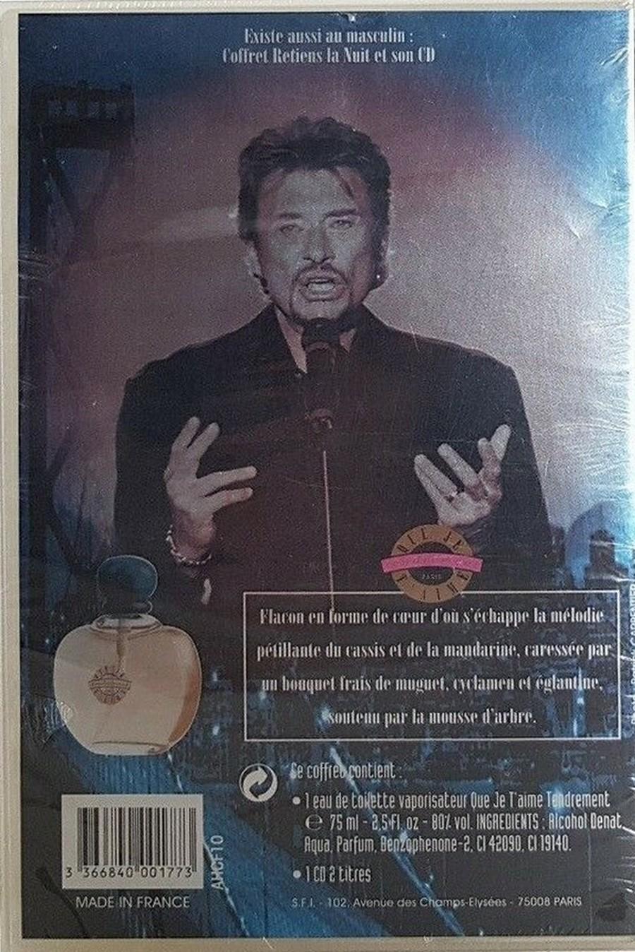 PARFUMS JOHNNY HALLYDAY ( COFFRET + CD )( 1995 - 1998 ) 1998_q13
