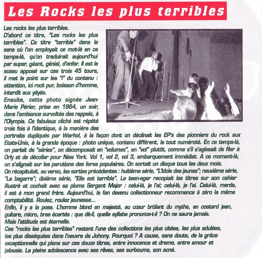 COFFRET 3 CD LES ROCKS LES PLUS TERRIBLES  ( 1997 - 1999 ) 1999_l30