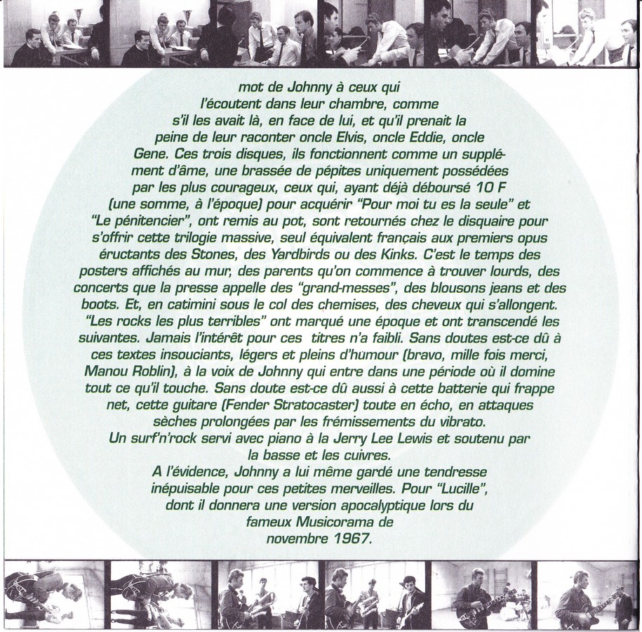 COFFRET 3 CD LES ROCKS LES PLUS TERRIBLES  ( 1997 - 1999 ) 1999_l33
