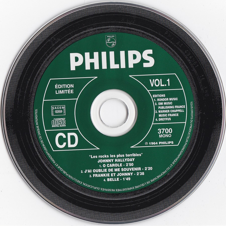 COFFRET 3 CD LES ROCKS LES PLUS TERRIBLES  ( 1997 - 1999 ) 1999_l40