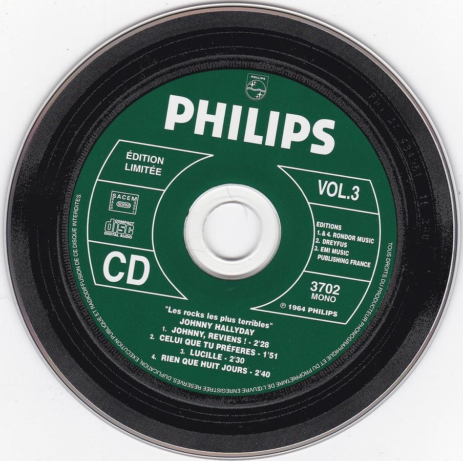 COFFRET 3 CD LES ROCKS LES PLUS TERRIBLES  ( 1997 - 1999 ) 1999_l52