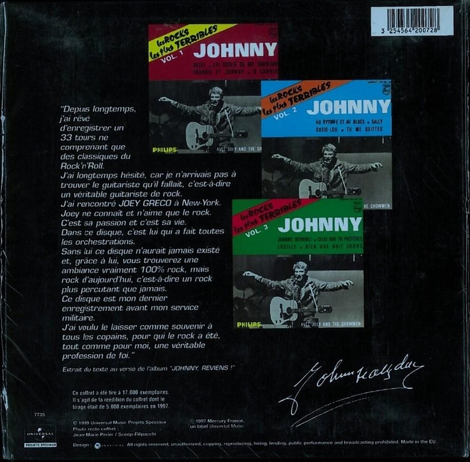 COFFRET 3 CD LES ROCKS LES PLUS TERRIBLES  ( 1997 - 1999 ) 1999_l57
