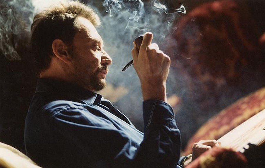 LES FILMS DE JOHNNY 'L'HOMME DU TRAIN' 2002 2-homm10