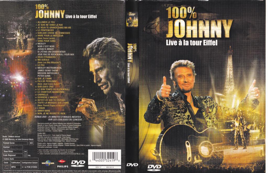 JAQUETTE DVD CONCERTS ( Jaquette + Sticker ) 2000_l11