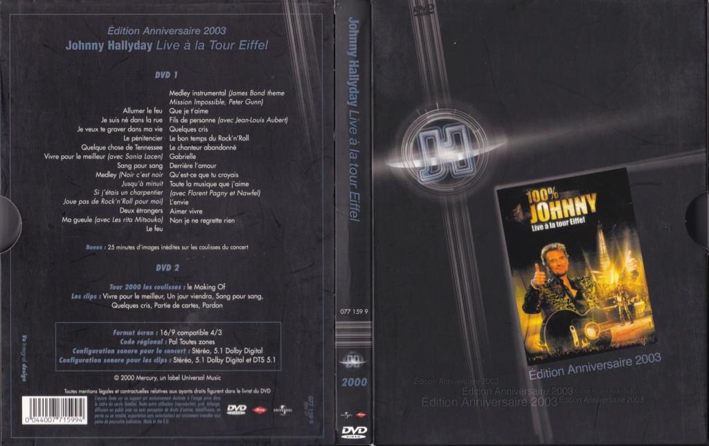 JAQUETTE DVD CONCERTS ( Jaquette + Sticker ) 2000_l12