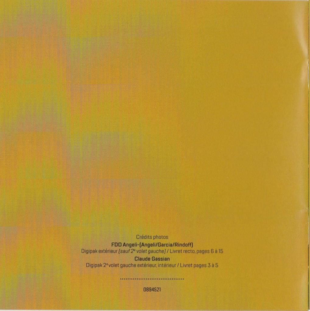 PARC DE SCEAUX 2000 ( 2CD + DVD )( DATE DE SORTIE : 12 JUIN 2020 ) 2000_p20