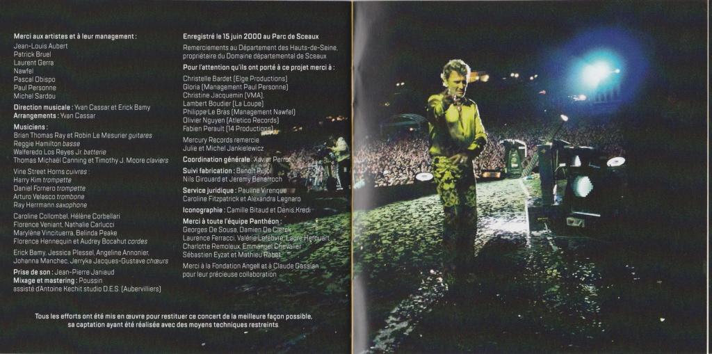 PARC DE SCEAUX 2000 ( 2CD + DVD )( DATE DE SORTIE : 12 JUIN 2020 ) 2000_p22