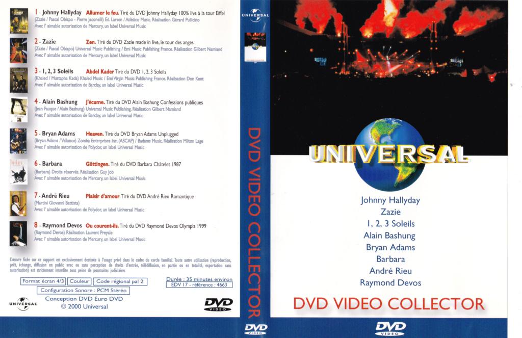 JAQUETTE DVD EMISSIONS TV , DOCUMENTS ,COMPILATIONS , ETC ( Jaquette + Sticker ) 2000_u11