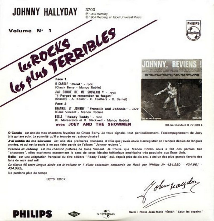 COFFRET 40 CD 1961-1969 ( REEDITION DES 40 EP )( 2001 ) 2001_113