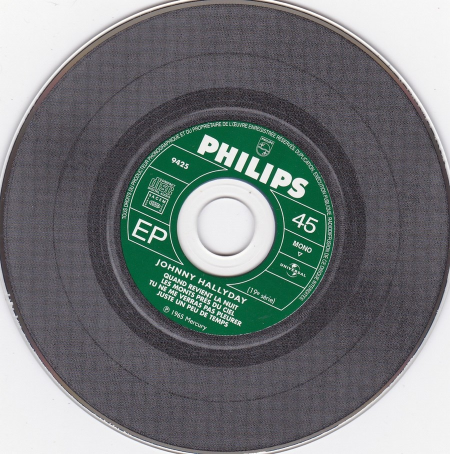 COFFRET 40 CD 1961-1969 ( REEDITION DES 40 EP )( 2001 ) 2001_129