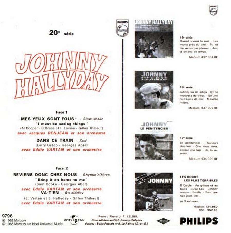 COFFRET 40 CD 1961-1969 ( REEDITION DES 40 EP )( 2001 ) 2001_130