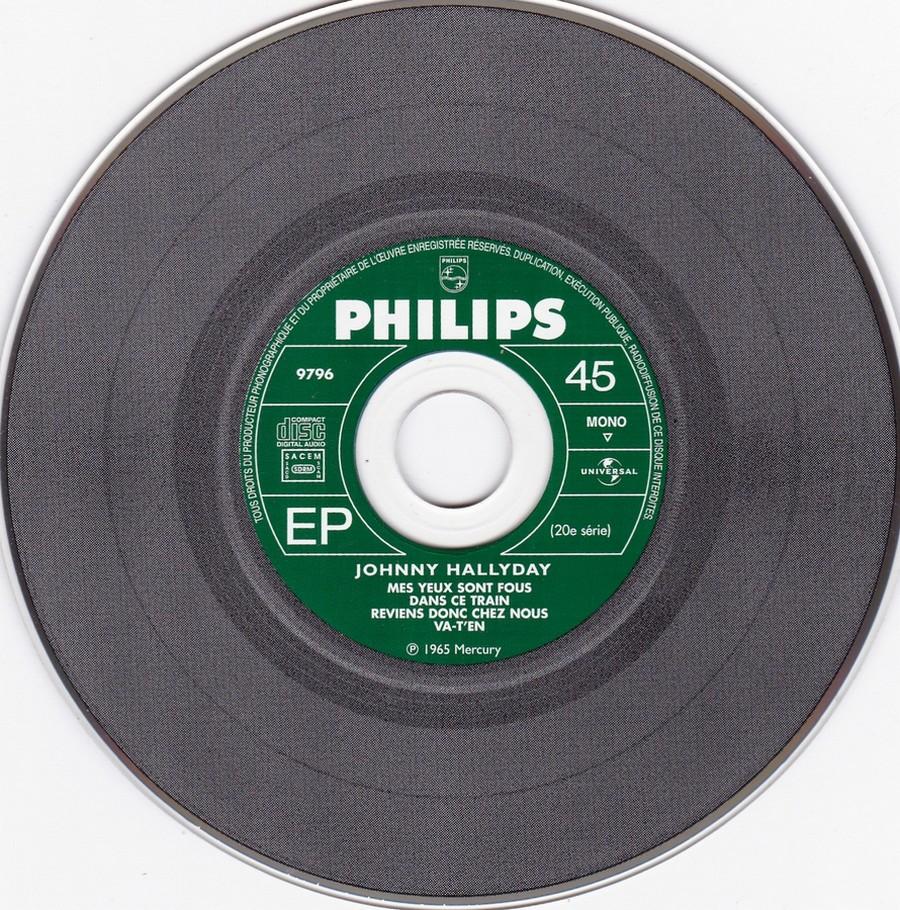 COFFRET 40 CD 1961-1969 ( REEDITION DES 40 EP )( 2001 ) 2001_132