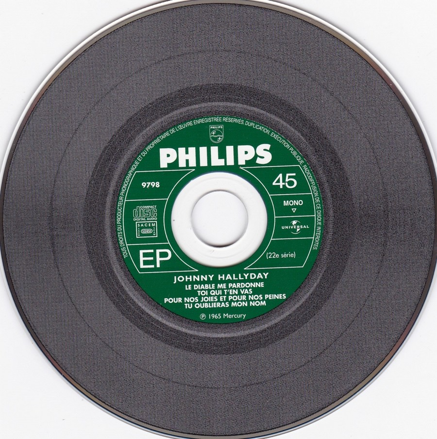 COFFRET 40 CD 1961-1969 ( REEDITION DES 40 EP )( 2001 ) 2001_138