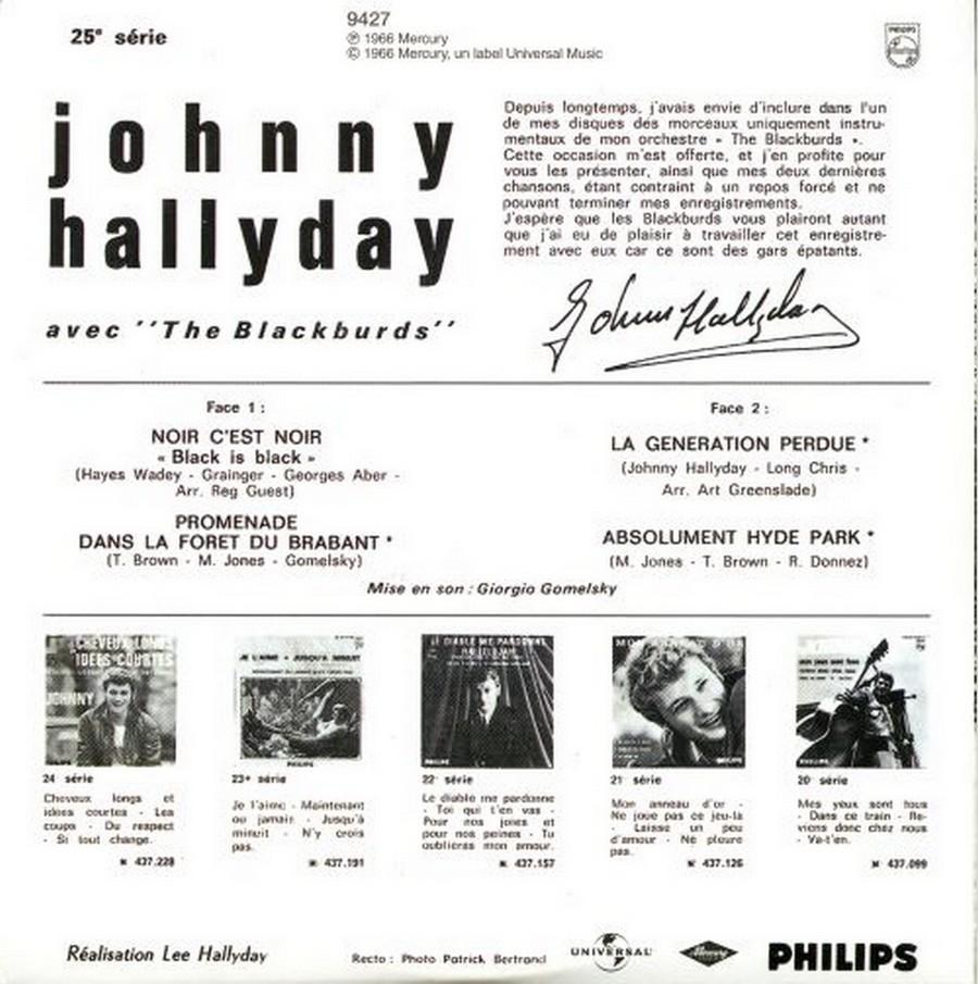 COFFRET 40 CD 1961-1969 ( REEDITION DES 40 EP )( 2001 ) 2001_145