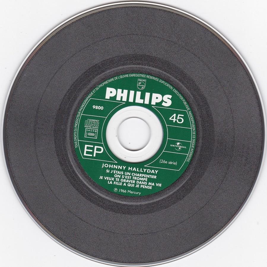 COFFRET 40 CD 1961-1969 ( REEDITION DES 40 EP )( 2001 ) 2001_150