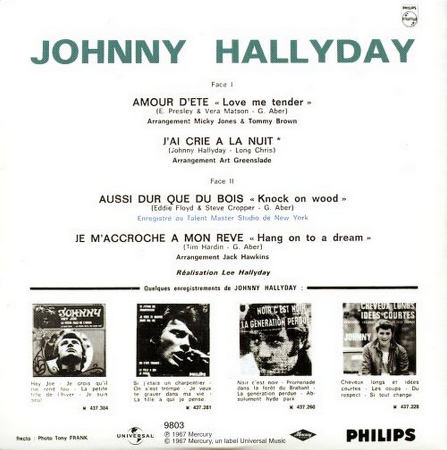 COFFRET 40 CD 1961-1969 ( REEDITION DES 40 EP )( 2001 ) 2001_158