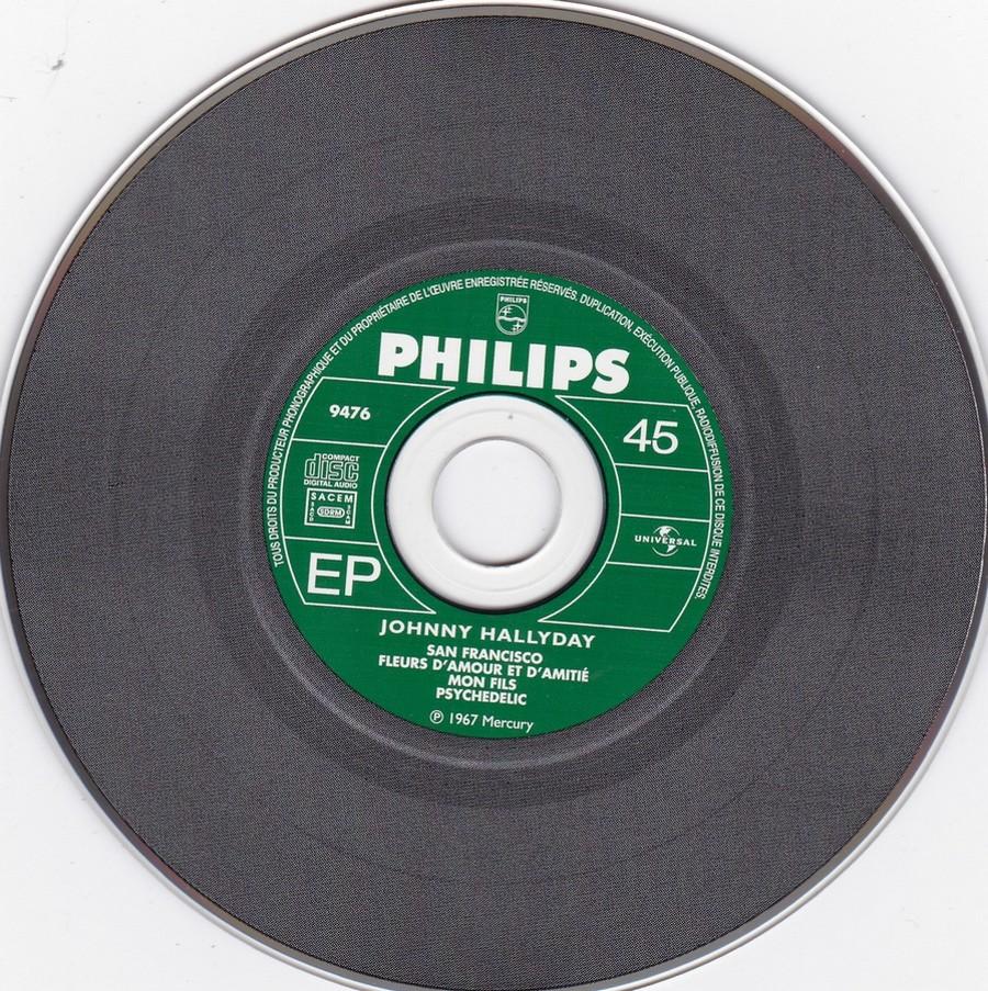COFFRET 40 CD 1961-1969 ( REEDITION DES 40 EP )( 2001 ) 2001_165