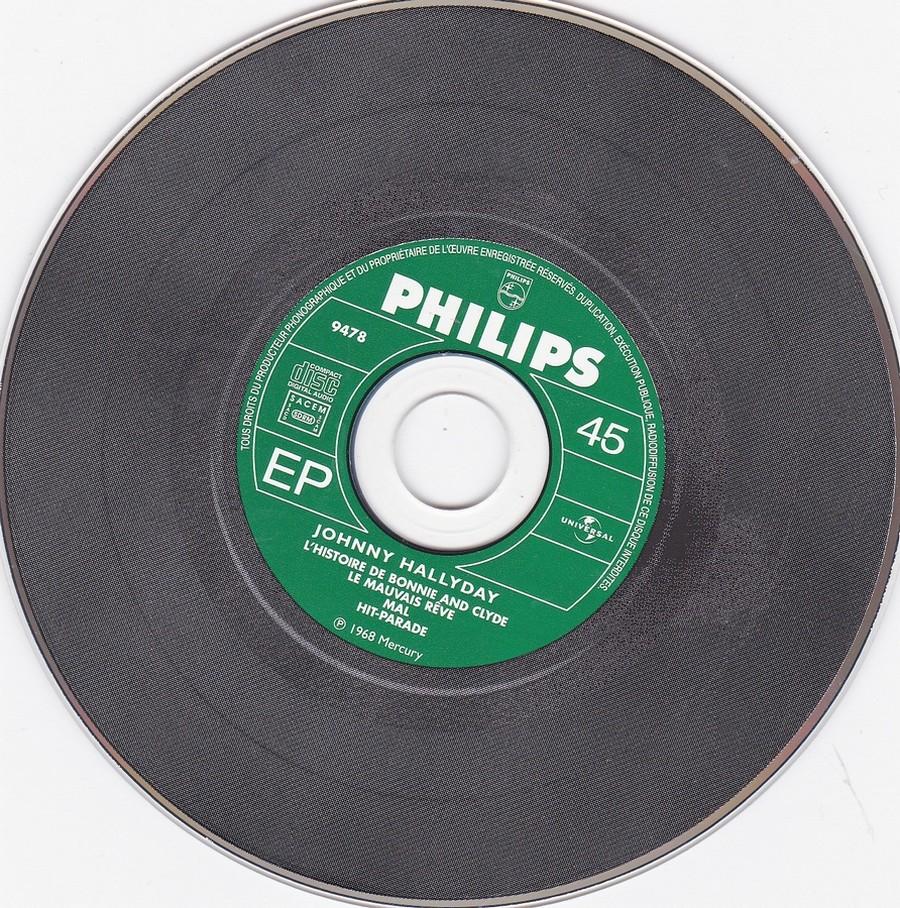 COFFRET 40 CD 1961-1969 ( REEDITION DES 40 EP )( 2001 ) 2001_168