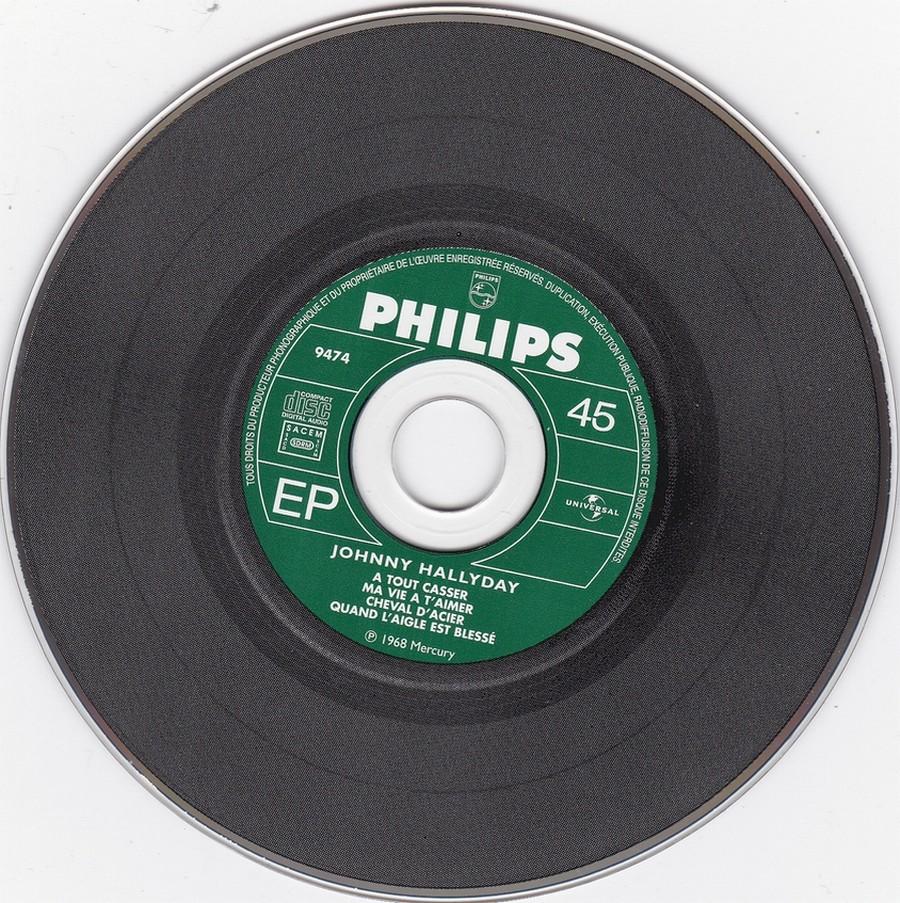 COFFRET 40 CD 1961-1969 ( REEDITION DES 40 EP )( 2001 ) 2001_174
