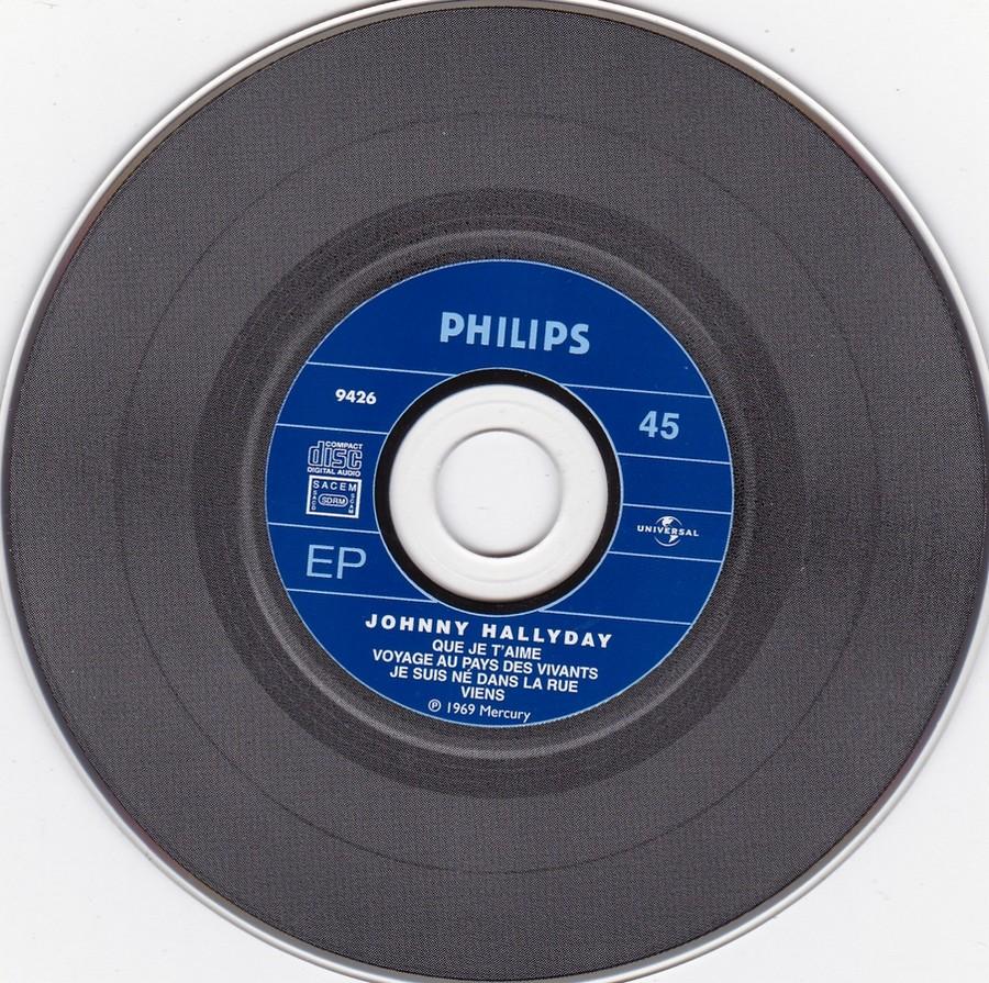 COFFRET 40 CD 1961-1969 ( REEDITION DES 40 EP )( 2001 ) 2001_180
